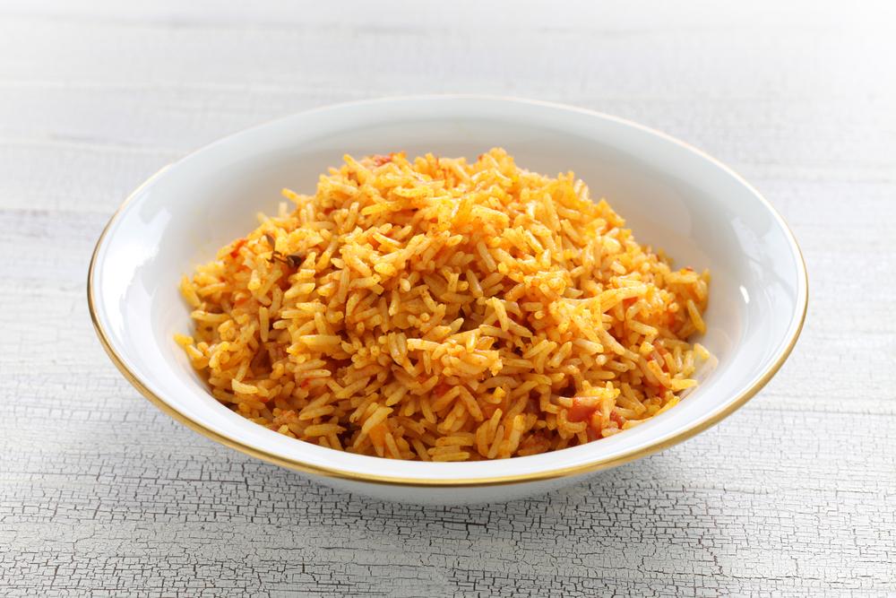 photo of jollof rice from nigeria